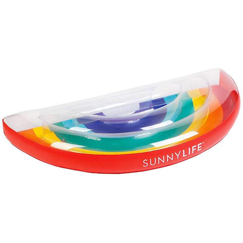 Bouée Adulte Luxe Arc-en-ciel SunnyLife
