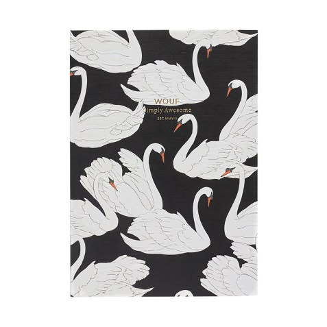 Cahier original ligné – Format A5 – Swan by WOUF
