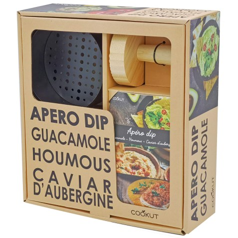 Coffret Cadeau Apéro Dip – Fucking Good Fresh Guacamole Cookut