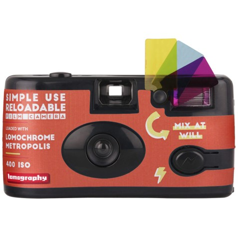Lomochrome Metropolis Simple Use Film Camera