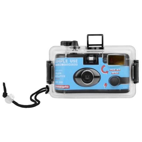 Caméra Simple Use rechargeable avec boitier étanche – Pellicule Color Negative 400