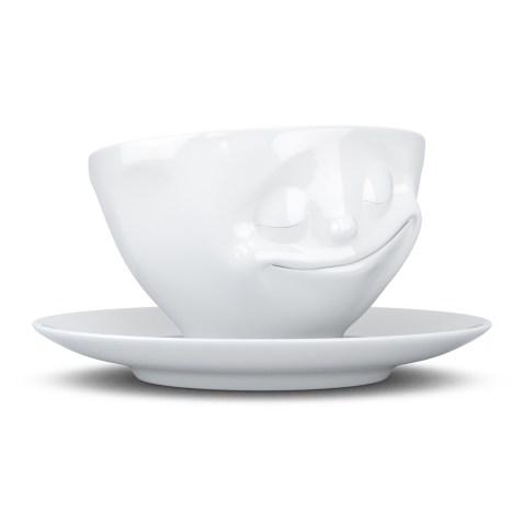 Tasse à thé 200ml TASSEN avec soucoupe – Heureux