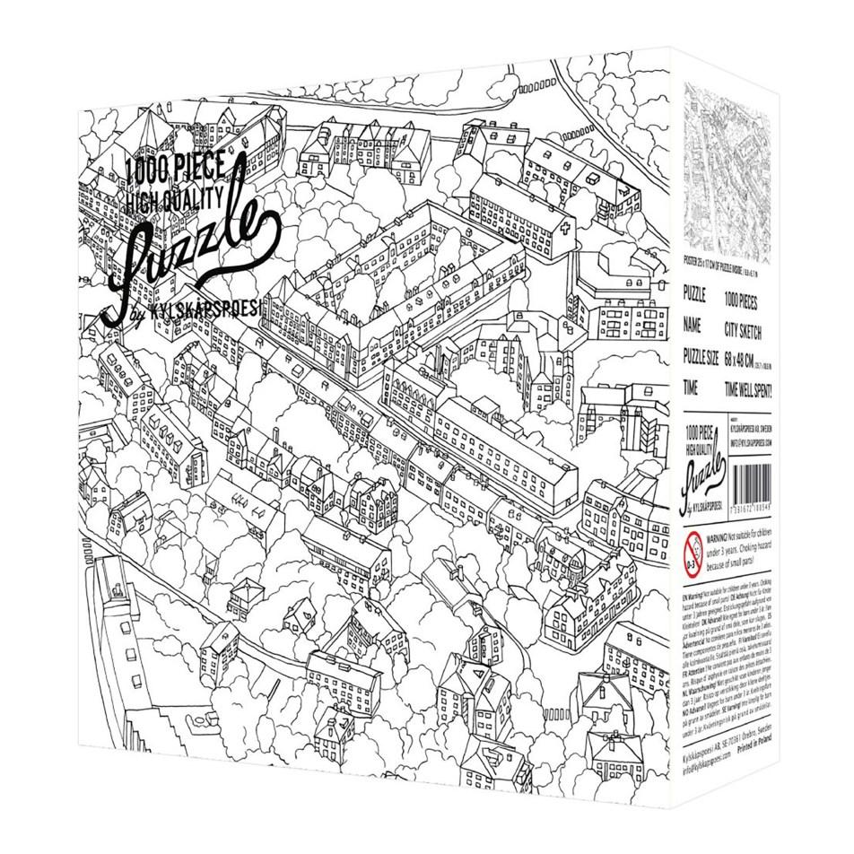Puzzle 1000 pièces – La ville