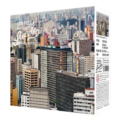 Puzzle 1000 pièces – Sao Paulo