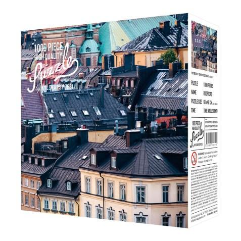 Puzzle 1000 pièces – Sur les toits
