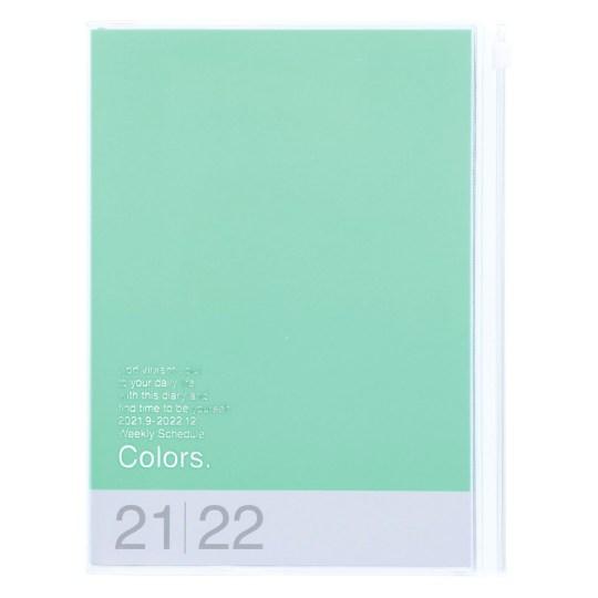 Agenda 2021-2022 Mark's Japan Colors A5 Menthe – sep21 à déc22