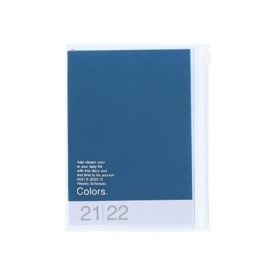 Agenda 2021-2022 Mark's Japan Colors A6 Bleu – sep21 à déc22