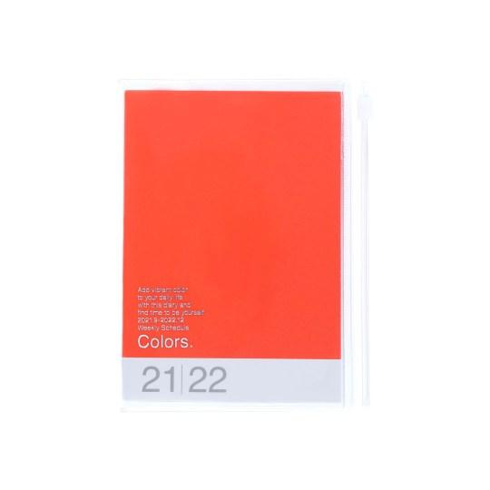 Agenda 2021-2022 Mark's Japan Colors A6 Orange – sep21 à déc22