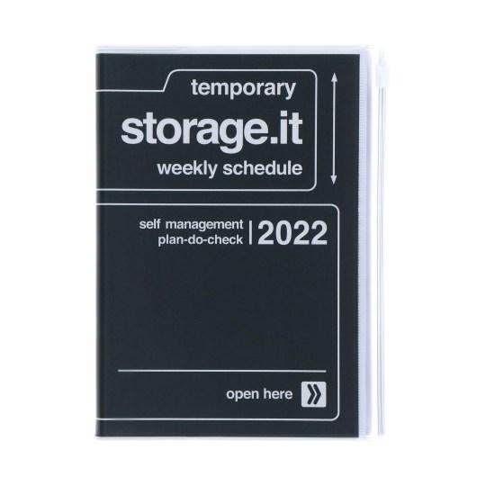Agenda 2021-2022 Mark's Japan Storage.it B6 Noir – oct21 à jan23