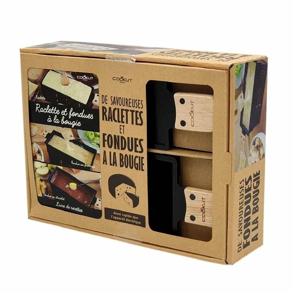 Coffret Cadeau LUMI Set pour fondue et Raclette