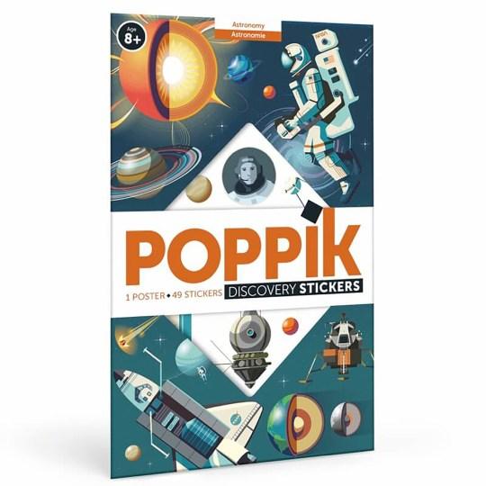 Poster à sticker Astronomie par POPPIK