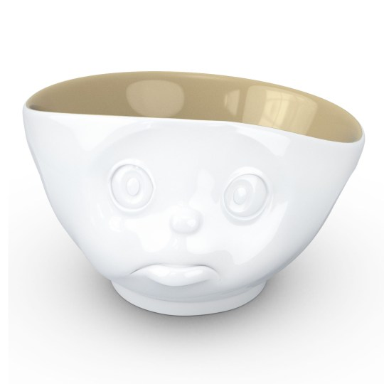 Bol 500ml en Porcelaine Humeur du matin Boudeur Tassen – Intérieur Sable