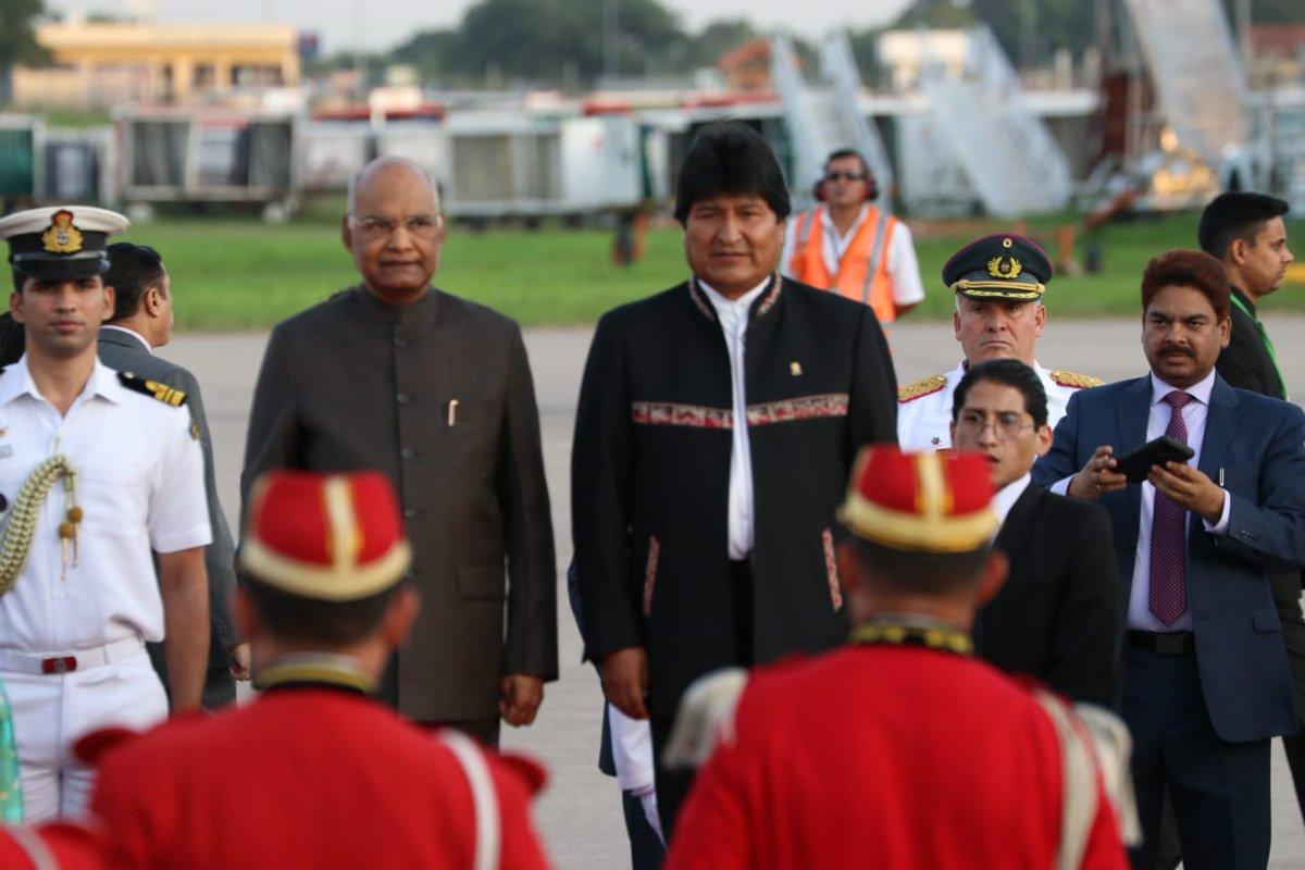 Resultado de imagen para presidente de india en santa cruz
