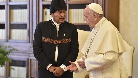 Evo y el Papa