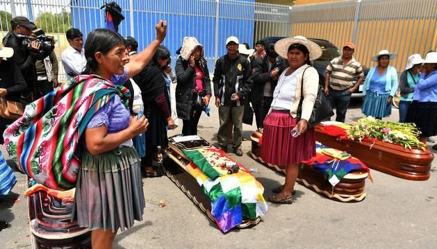 Muertos en Bolivia