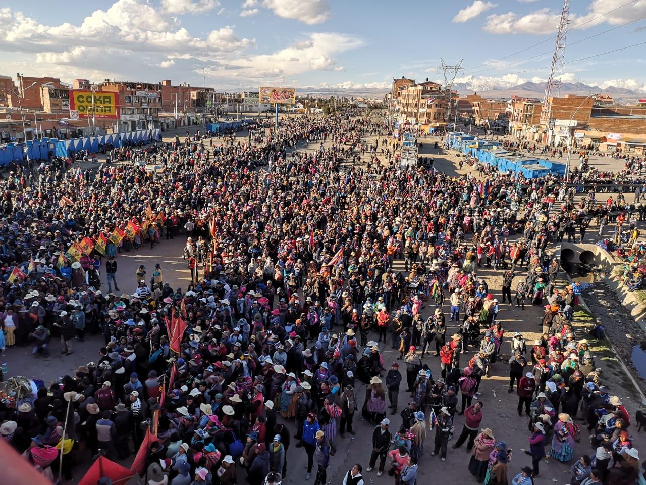Protestas Bolivia