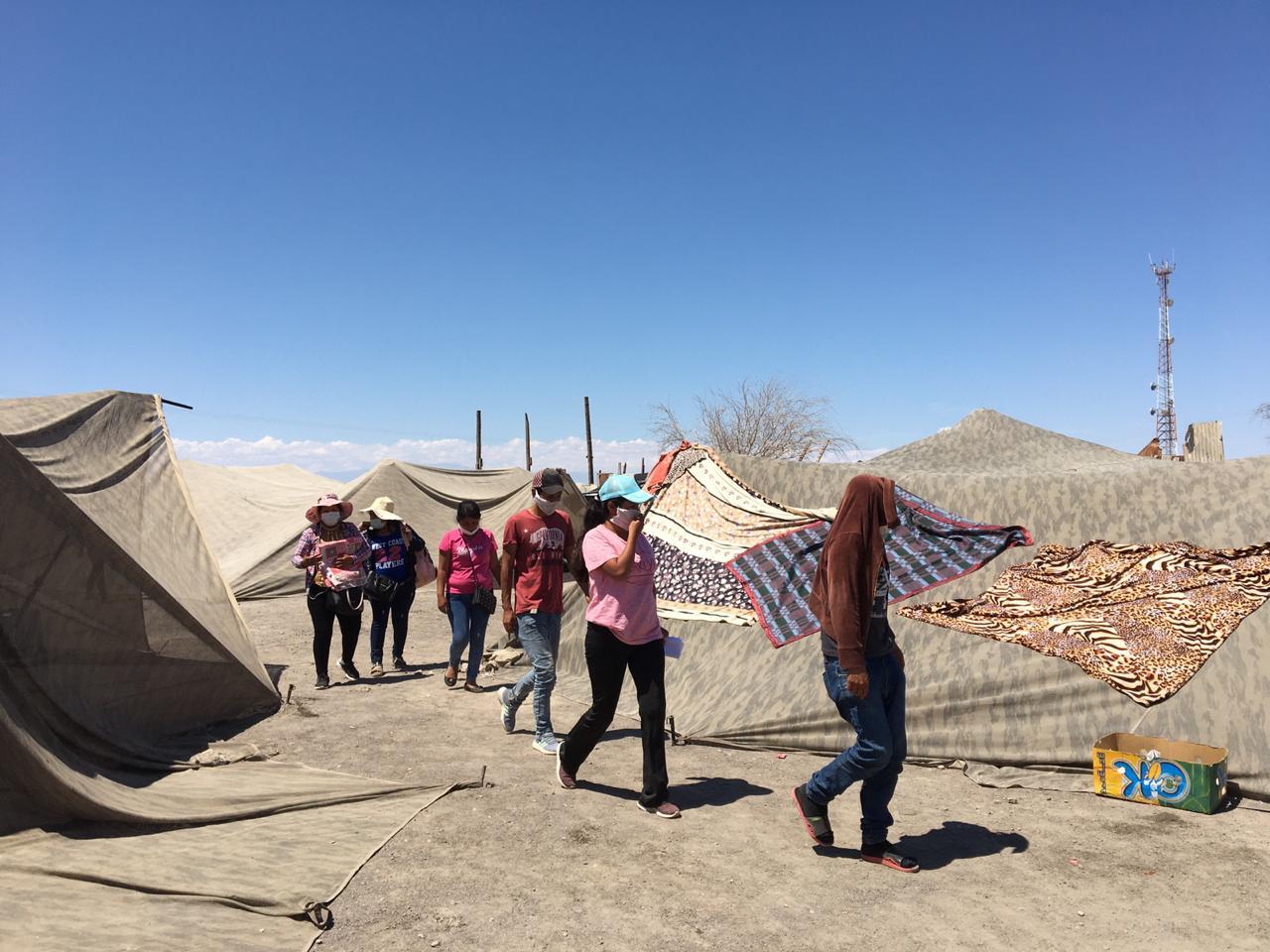 Campamento Bolivia