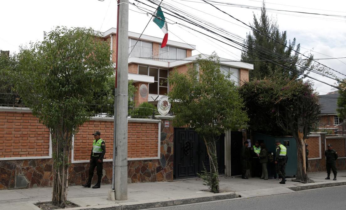 Embajada México-Bolivia
