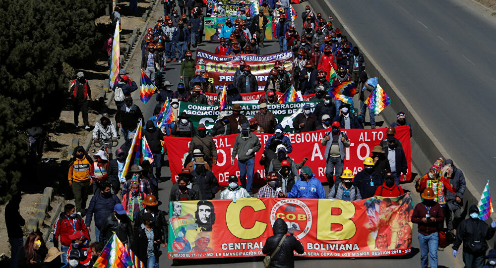 Marcha Bolivia