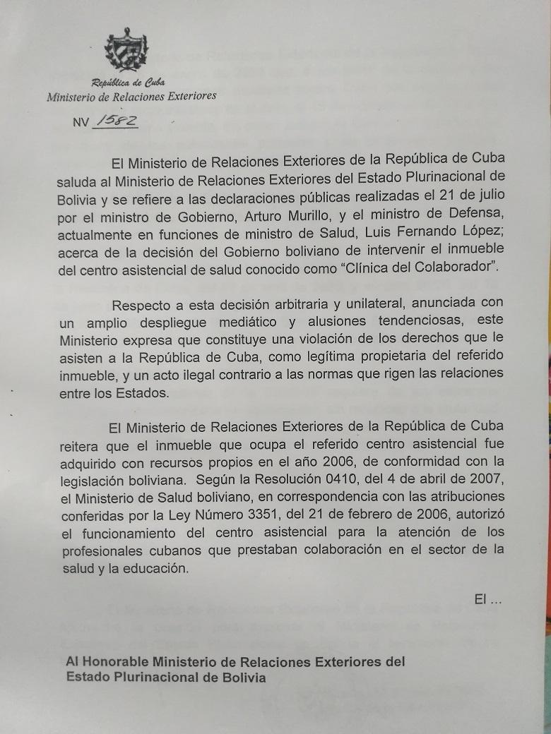 Cuba clinica uno