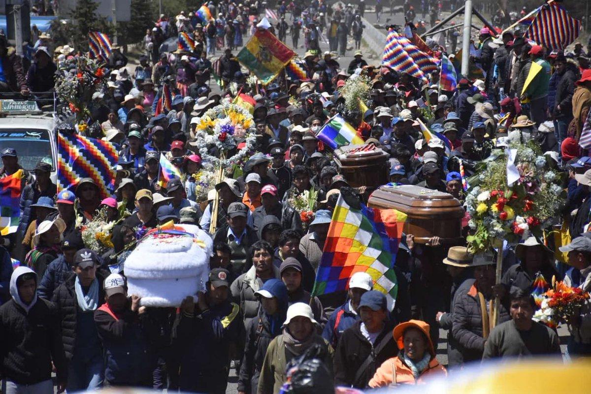Un año de la masacre de Senkata sin justicia en Bolivia | La Época- Con  sentido de momento histórico