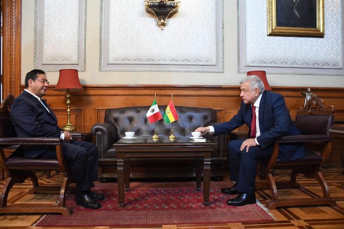 Arce y López Obrador