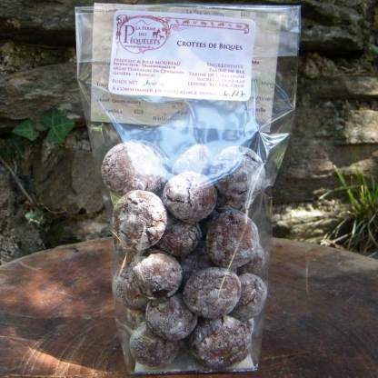 Crottes de Bique (Châtaigne-Chocolat)