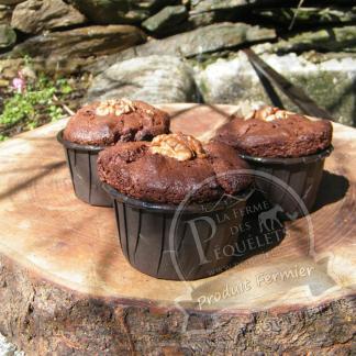 Muffin Cévenol Choco-Noix