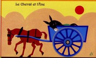 Illustration contemporaine : Foré, carte postale