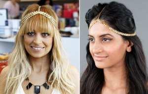 nicole-richie-indian-headband