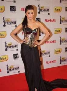 shruti Hasan filmfare awards 2013
