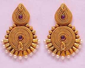 indian ethnic earings