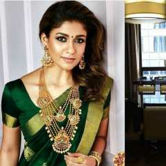 nayan_green-saree