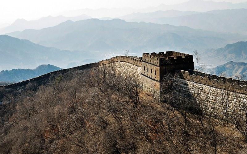 Premiers pas sur la Muraille de Chine