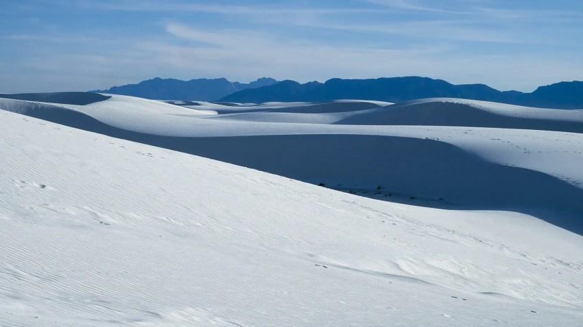 nouveau mexique white sands