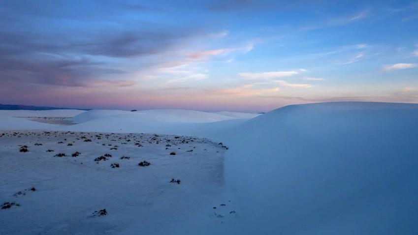 desert sable blanc