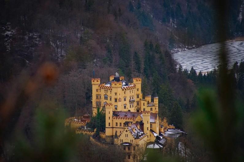 château de Hohenschwangau jaune