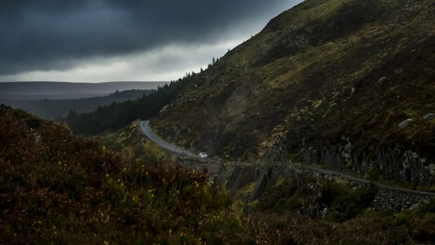 Wicklow Mountains route