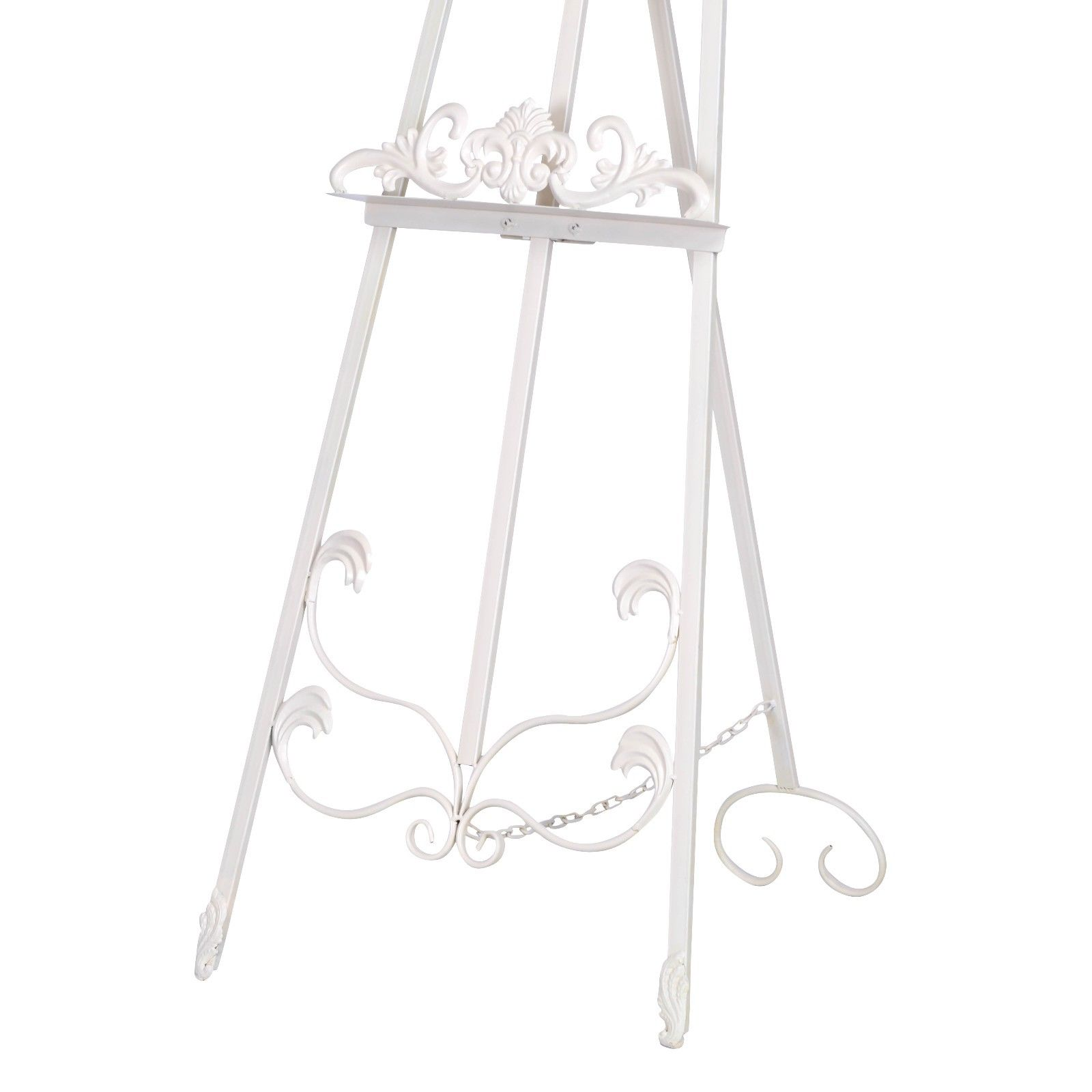 French Style Cream Metal Easel Furniture