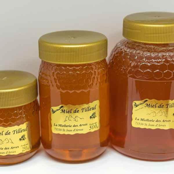 Miel artisanal de Tilleul