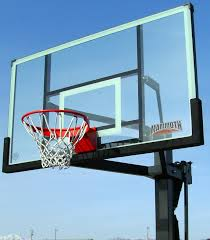 a basketball hoops