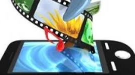 movie roll on a phone