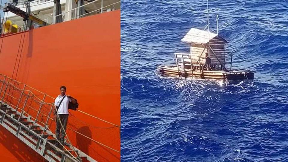 Indonesia, 49 giorni alla deriva nell'Oceano Pacifico: salvato un 19enne