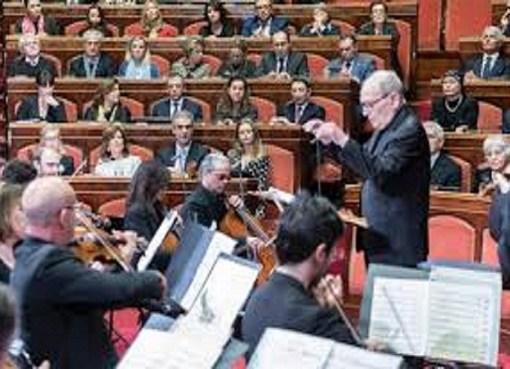 Ennio Morricone concerto al Senato