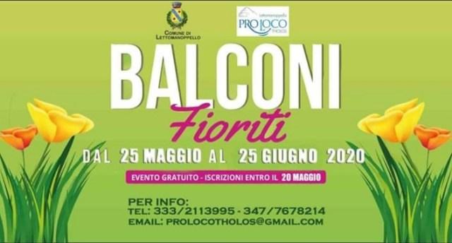 Lettomanoppello, al via la prima edizione di Balconi Fioriti
