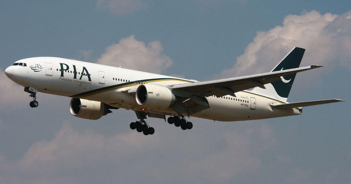incidente aereo in pakistan