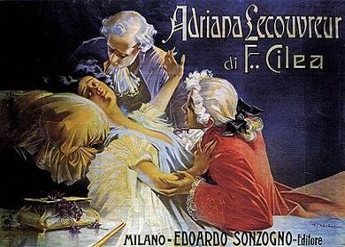 Adriana Lecouvreur dalla scala di milano