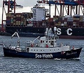 28 migranti positivi dalla Sea Watch