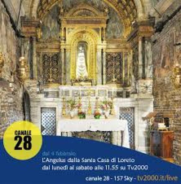 Tv2000 - Dal 4 febbraio su Tv2000 l'Angelus dalla Santa...   Facebook