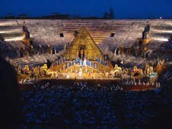 """Aida"""" di Verdi del 10 agosto alle 10 su RAI 5: dall'Arena di Verona"""